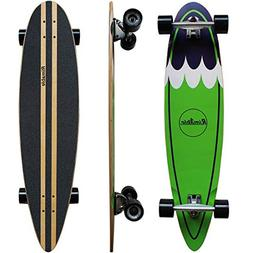 RIMABLE Canadian Maple Pintail Longboard GREENSURF