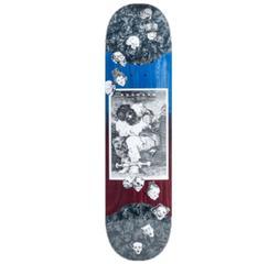 "Madness Captivity Slick Blue Violet 8.125"" Skateboard Deck"