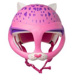Raskullz Cat Face Mask Bike Helmet For Kids 5-8 Girls Skateb