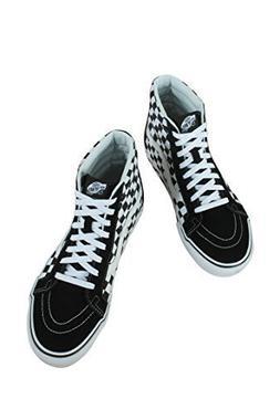 Vans Unisex Checkerboard SK8-Hi Reissue Black/True White/Che