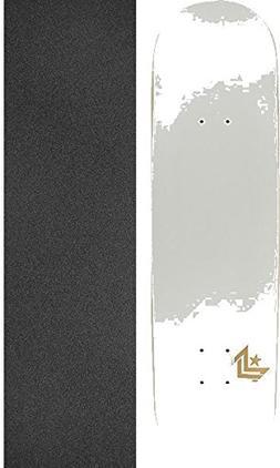 "Mini Logo Chevron Pearl White Skateboard Deck 250-8.75"" x 33"
