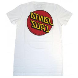 Santa Cruz Women's Classic Dot Fitted T-Shirt X-Large Royal