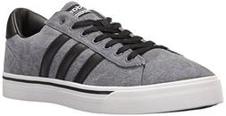 adidas Men's Cloudfoam Super Daily Sneakers, Black/Grey/Whit