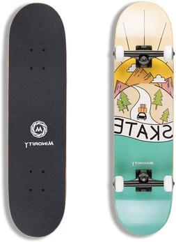 complete 32 inch skateboard cruiser tricks classic
