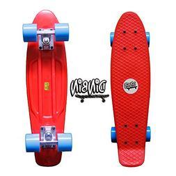 "DINBIN Complete Cruiser Board Mini 22"" Pro Skateboards"