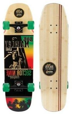Sector 9 Complete Cruiser Skateboard Bob Marley Natty Ride