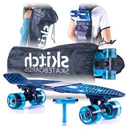 Skitch Complete Skateboards Gift Set for Beginners Boys and