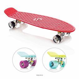 Eightbit 27 Inch Complete Skate Board - Retro Skateboard - F
