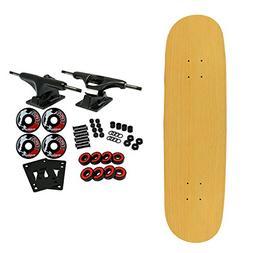Moose Complete Skateboard NATURAL 8.0 Black/Black