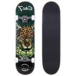 Cal 7 Complete Skateboard, Popsicle Style with 5.25 Inch Tru