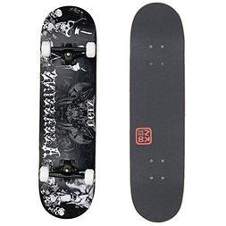 "VOKUL 31"" X 8"" Complete Standard Skateboard Cruiser with 7 L"