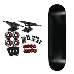 Moose Complete Skateboard DIPPED BLACK 8.0 Black/Black