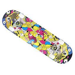 "OneHype - Pro Complete Skateboard Monster Jam 31"" x 8 inch M"