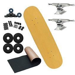"""Moose Pro Complete Unassembled Skateboard, Natural, 7.5"""""""