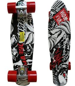 "COOL Rimable Complete 22"" Skateboard-High Quality-Super Smoo"