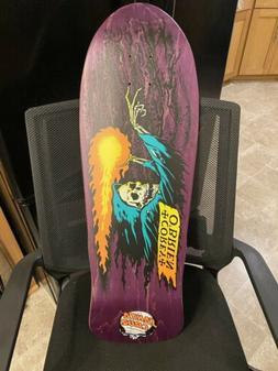Santa Cruz Corey Obrien Skateboard Deck Reissue Purple Reape