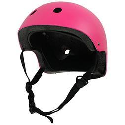 KROWN CPSC Skateboard Fitness Helmet YOUTH SIZE w/ INSERTS P