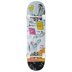 """Krooked Cromer Uno Unknown Full Skateboard Complete - 8.38"""""""