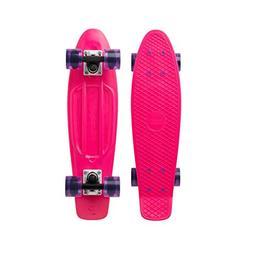 "Penny Cruiser Plastic Skateboard 22"" Original Pink Gem"