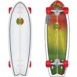 Santa Cruz Cruiser Skateboard Complete Landshark Classic Ras