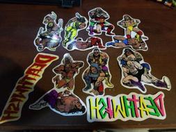 Deathwish Skateboards Sticker Collection Lot Baker