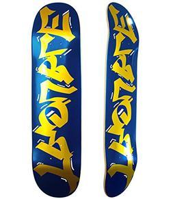 Trouble Skateboards Skateboard Deck Blue/Blank 8.0