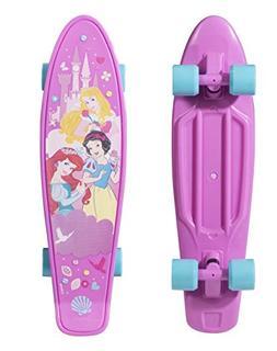Disney Princess 21 Plastic Kids Complete Skateboard