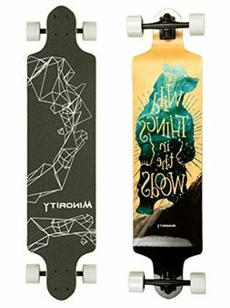 Downhill Longboard Drop Deck Skateboard Cruiser Perfect For