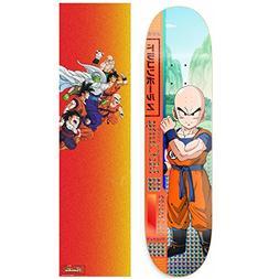 "Primitive Dragon Ball Z McClung Krillin Skateboard Deck 8.0"""