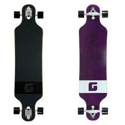 "Atom Longboards Atom Drop Through Longboard - 40"", Purple Ve"