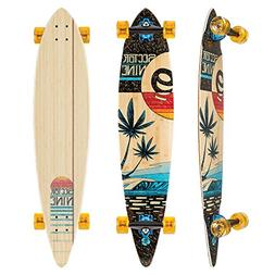 Sector 9 Eclipse Bonsai Complete 42 Inch Bamboo Top Mount Lo