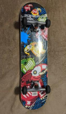 Punisher Skateboards Elephantasm  Complete 31-Inch Skateboar