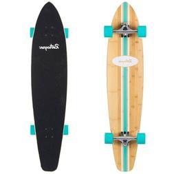RETROSPEC Emporium Zed Bamboo Longboard Skateboard Cruiser,