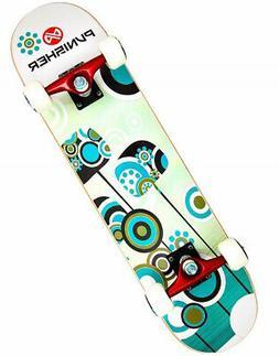 Punisher Skateboards Essence Complete 31-Inch Skateboard wit