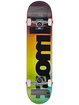 "Almost Fade FP Complete Skateboard,Black,31.2"" L X 7.625"" W"