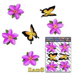 FLOWER PINK Small Frangipani Plumeria BUTTERFLY ANIMAL Car S