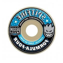 Spitfire Formula 4 99a Classic 54mm White W Blue Skate Wheel