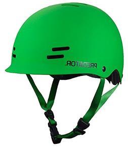 Predator FR7 Certified Skateboard Helmet Matte Green Size M/