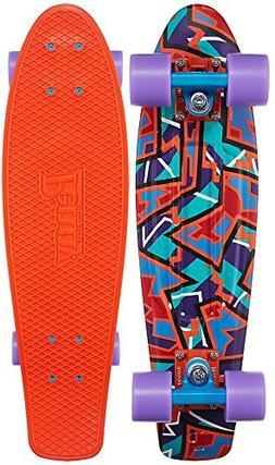 "Penny Fresh Prints Nickel Complete Skateboard, Spike, 27"" L"