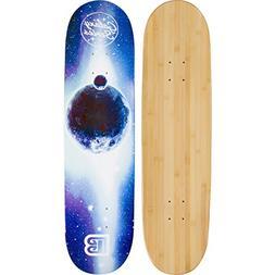 Bamboo Skateboards Galaxy Series: Blue Moon Skateboard Deck