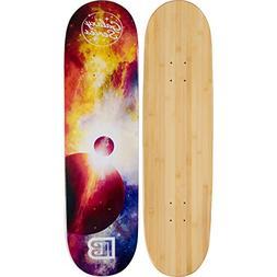 Bamboo Skateboards Galaxy Series: Eclipse Skateboard Deck
