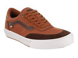 Vans Men's Gibert Crockett Leather Brown/Potting Soil Skate