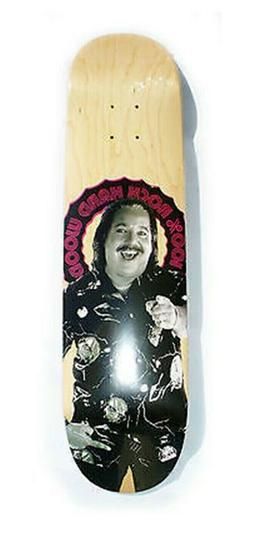 "Ron Jeremy Good Wood skateboards deck 8.25"" RARE quality"