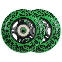 GREEN CHEETAH Wheels for RIPSTICK ripstik wave board ABEC 9
