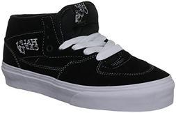 Vans Half CAB Black/White Skateboard Shoes-Men 9.0, Women 10