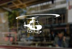 25cm Helicopter astar AS350 eurocopter Vinyl Stickers Funny