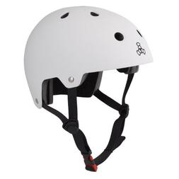 Triple Eight 3016 Dual Certified Helmet, X-Small/Small, Whit
