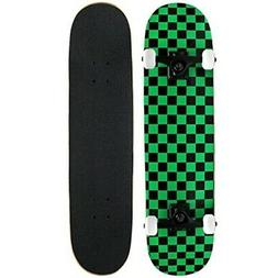 Krown Intro Skateboard, Green/Black