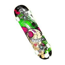 Punisher Skateboards Jinx  Complete 31-Inch Skateboard All M