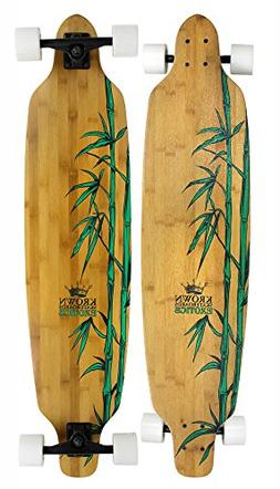 Krown Krex 2 Bamboo Freestyle Complete Longboard, 9.25x41-In